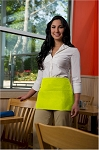 Style 100 Professional Three Pocket LIME GREEN Waist Aprons