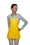 Style 215 EXTRA SMALL Professional Promo Two Pocket Bib Apron alexan events