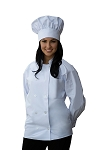 Style 901 Professional Adult Executive Long Sleeve Chef Coat
