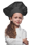 Style 850CH Professional Kids Chef Hat -- Charcoal Gray