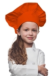 Style 850OR Professional Kids Chef Hat -- Orange