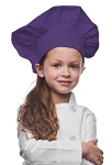 Style 850PL Professional Kids Chef Hat -- Purple