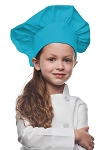 Style 850TUR Professional Kids Chef Hat -- Turquoise