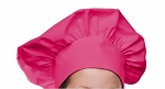 Style 800HP Professional Adult Executive Chef Hat - Hot Pink