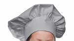 Style 800SIL Professional Adult Executive Chef Hat - Silver Gray