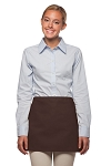 Style: 100NP Professional No Pocket Waist Apron - Brown