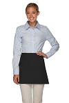 Style 100XW Extra Wide Professional Three Pocket Waist Aprons - Black