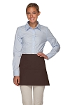 Daystar 100XL Professional Extra Large Three Pocket Waist Aprons - Brown