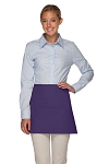 Style 100XL Professional Extra Large Three Pocket Waist Aprons - Purple