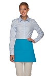 Style 100XL Professional Extra Large Three Pocket Waist Aprons - Turquoise