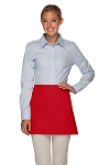 OVERSTOCK Style 100XW Extra Wide Professional Three Pocket Waist Aprons - RED