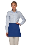 OVERSTOCK Style 100XW Extra Wide Professional Three Pocket Waist Aprons - Royal Blue