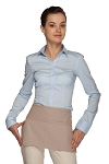 Style 105 Professional Two Pocket Waist Aprons - Khaki