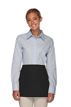 Style 106 Professional SIX Pocket Waist Aprons - 6 Pockets! - Black