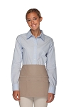 Style 106 Professional SIX Pocket Waist Aprons - 6 Pockets! - Khaki