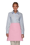 Daystar 110I Professional Half Bistro Apron with Inset Pocket - Pink
