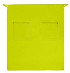 Style 122 Professional Two Pocket Full Length Bistro Apron - Lime