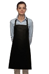 Style 211 Professional Pencil Pocket Bib Apron - Black