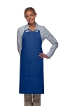 Daystar 220 High Quality Professional Center-Divided Pocket Butcher Apron - Royal Blue