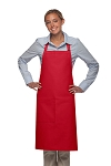 Style 221 High Quality Professional One Pocket Butcher Apron - Red