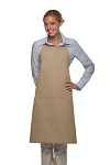 Style 223 Three Pocket Butcher Apron - Khaki
