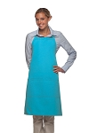 Style 223 Three Pocket Butcher Apron - Turquoise