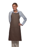 Style 223 Three Pocket Butcher Apron - Brown