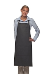 Style 224 Three Pocket Butcher Apron w/ Pencil Pocket - Charcoal Gray
