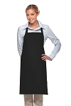 Style 230 Professional Two Patch Pocket Bib Apron - Black