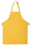 OVERSTOCK Style 240 Professional Extra Large No Pocket Bib Apron - Yellow