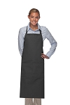 Style 242 High Quality Professional Extra Coverage Two Pocket Butcher Apron - Charcoal Gray