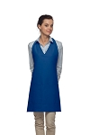 Daystar 300 High Quality Professional Two Pocket V-Neck Tuxedo Apron - Royal Blue