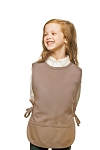 Style 450 High Quality Two Pocket Kids Cobbler Apron - Khaki