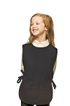 Style 450 High Quality Two Pocket Kids Cobbler Apron - Charcoal Gray
