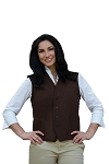 Style 742 High Quality Professional Two Pocket Unisex Vest Apron