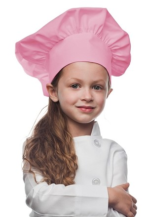 Style 850PK Professional Kids Chef Hat -- Pink