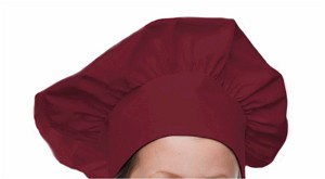 Style 800MA Professional Adult Executive Chef Hat - Maroon