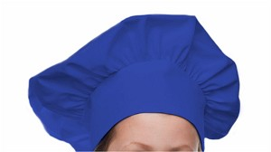 Style 800RO Professional Adult Executive Chef Hat - Royal Blue