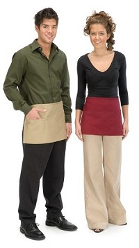 Style 100 Professional Three Pocket Waist Aprons