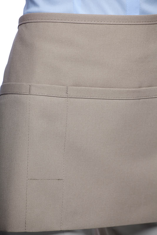 Style 100PD Professional Three Pocket Waist Apron w/ Pencil Divide