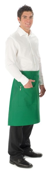 Style 118 Professional One Pocket 3/4 Bistro Apron