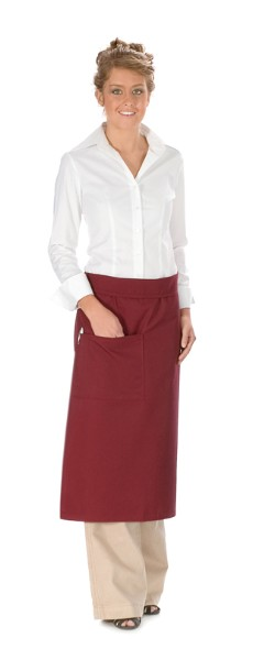 Style 120 Professional One Pocket Full Length Bistro Apron