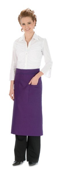 Style 122 Professional Two Pocket Full Length Bistro Apron