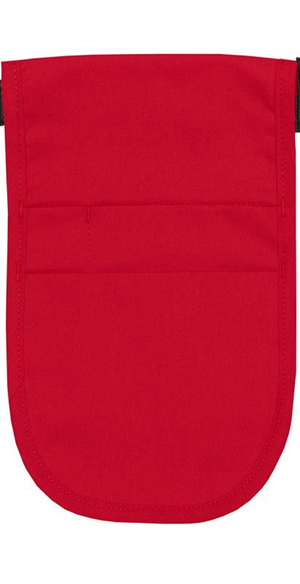 Style 152 Professional Money Pouch Aprons with Attached Belt - Red