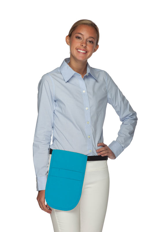Style 150 Professional Money Pouch Aprons - Turquoise