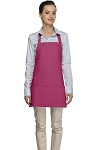 Style 200 Three Pocket HOT PINK Bib Apron
