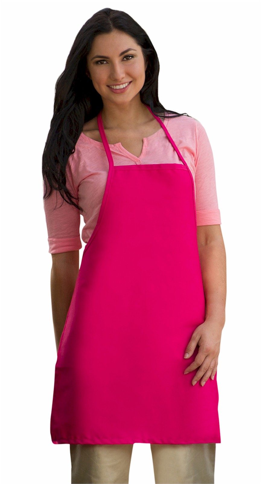 Style 205 Professional Small No Pocket Cover-Up Bib Apron