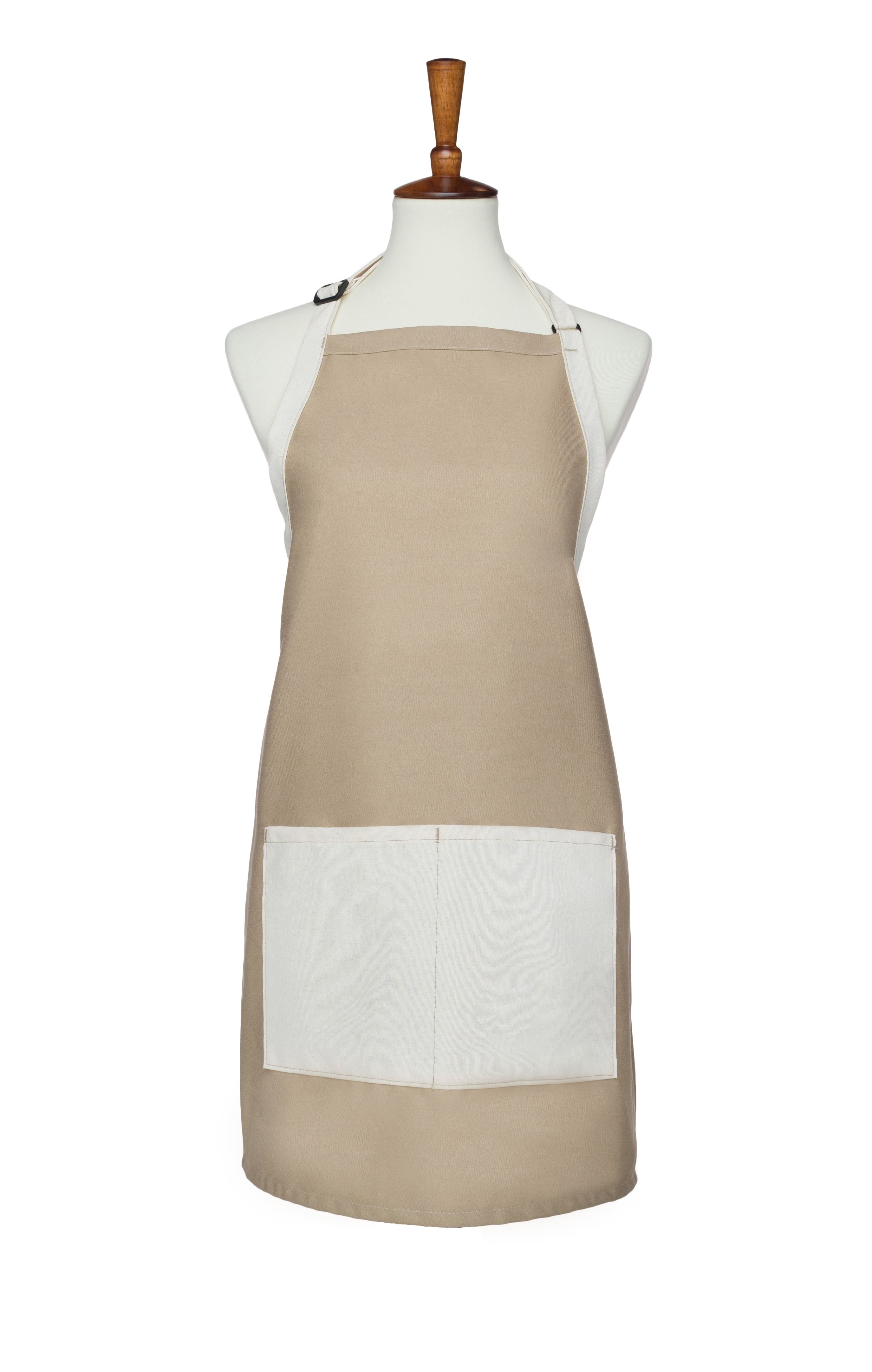 NEW! Two Pocket Two Tone Multi Color Bib Apron