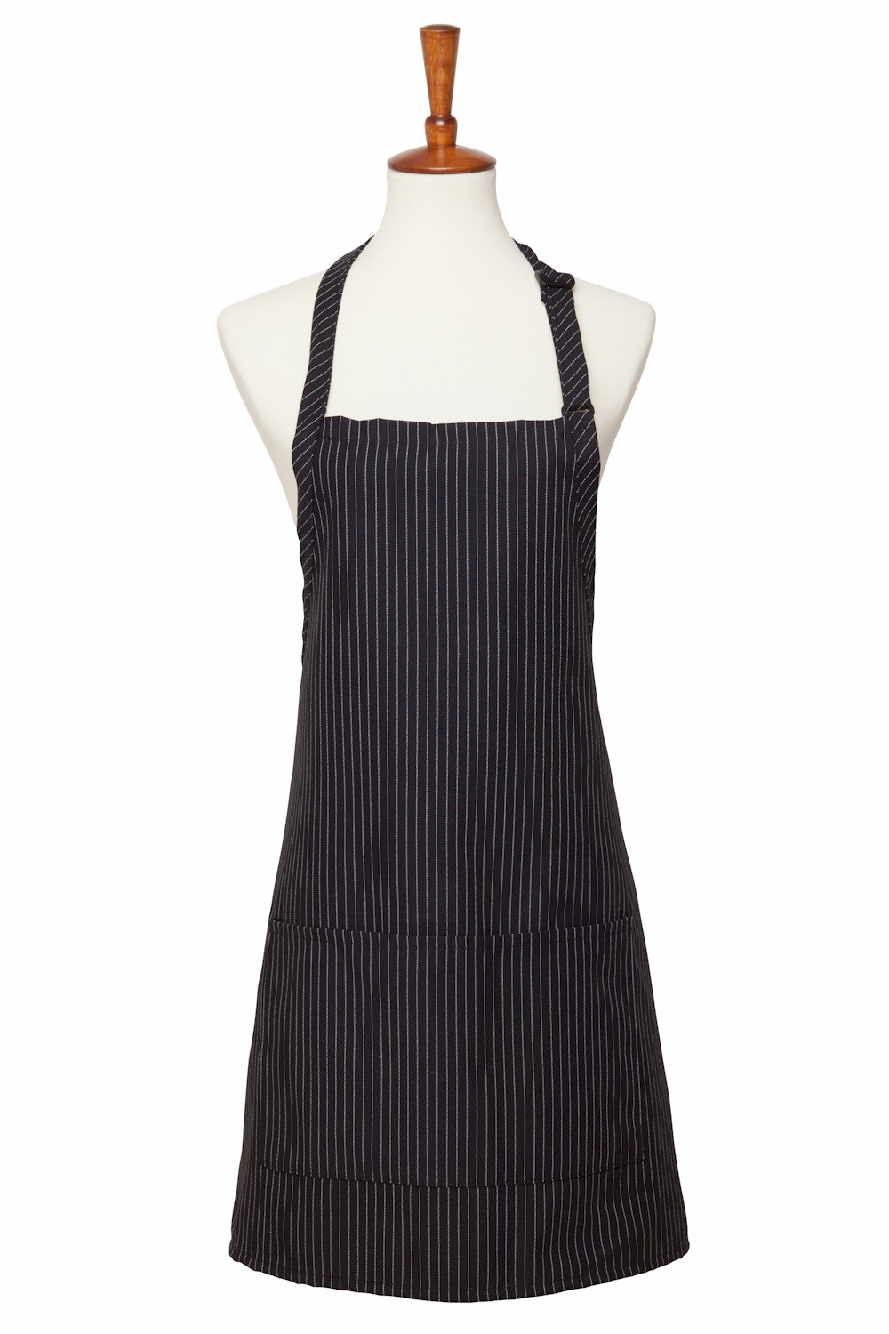 Style 212GS Gangster Pinstripe Three Pocket Bib Apron