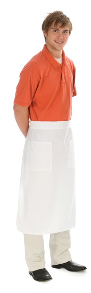 Style B512 Professional Two Patch Pocket Bistro Kitchen Apron